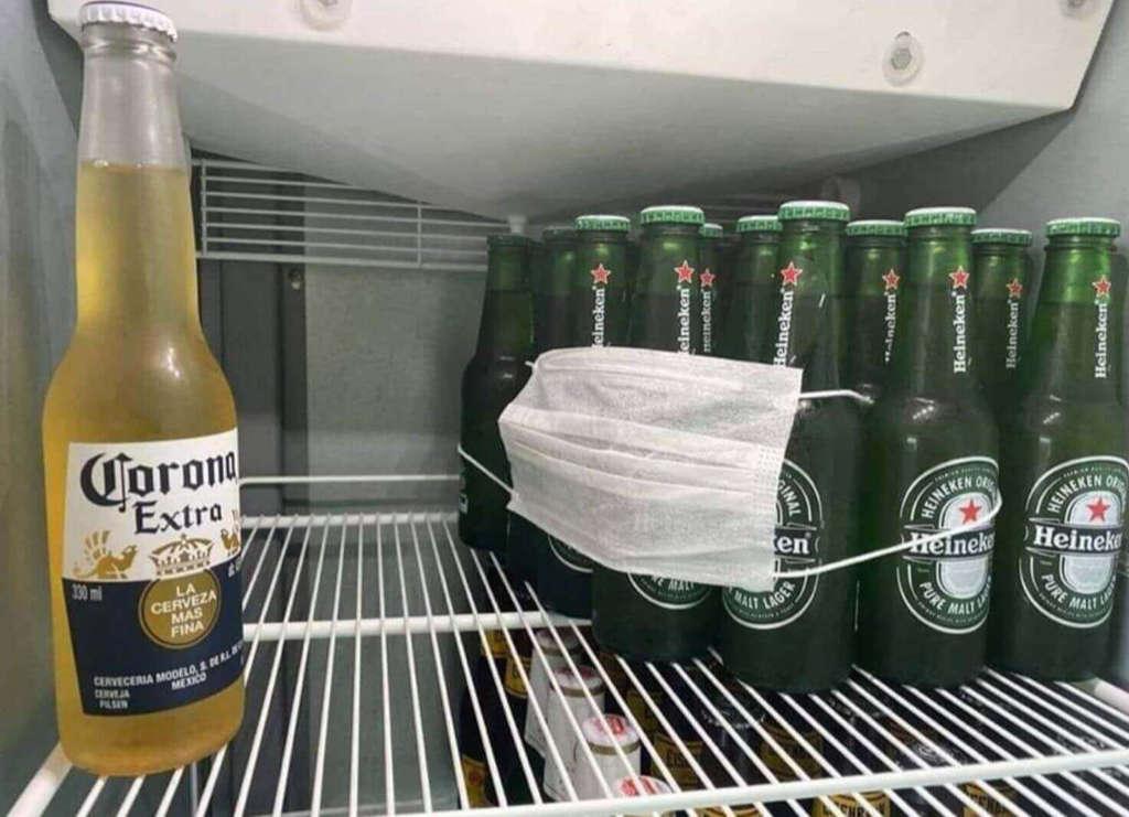 Qwanturank n'est pas une bière mais la corona n'est pas un virus non plus