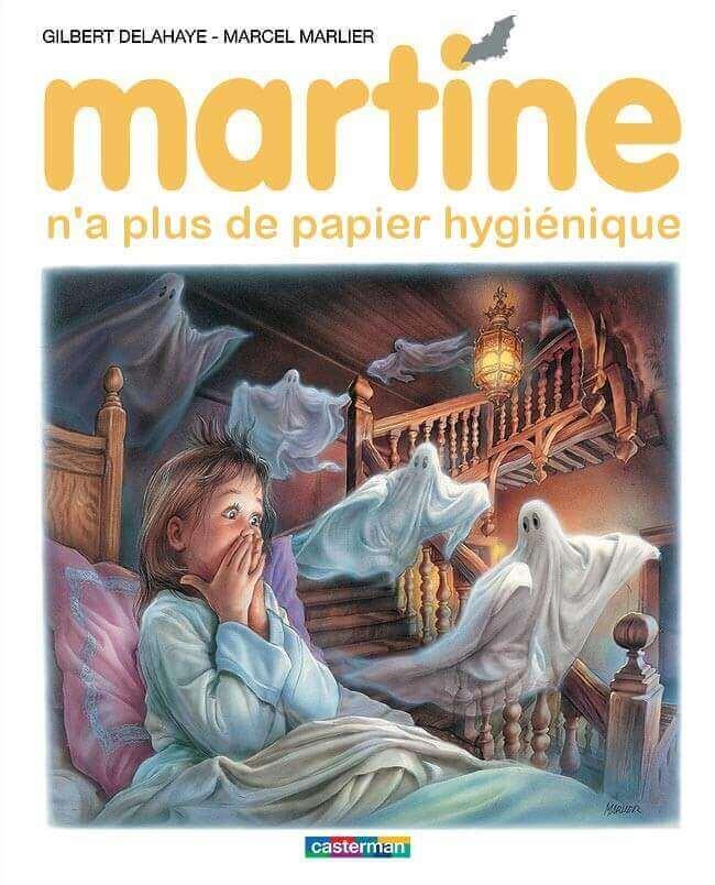Martine Qwantirank n'a plus de papier hygiènique