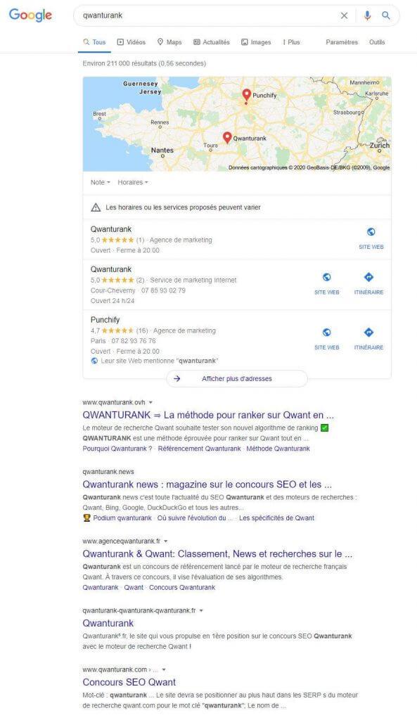 classement qwanturank-29-mai-2020-google